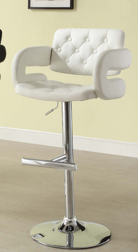 RIDE WHITE AIRLIFT SWIVEL STOOL 2 PCS SET-1178WHT