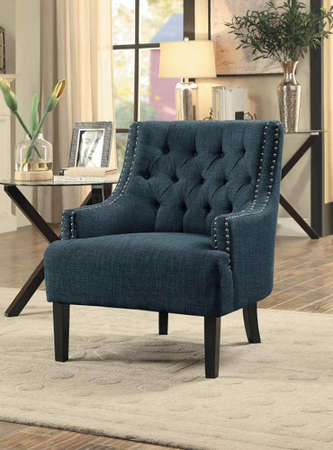 CHARISMA ACCENT CHAIR INDIGO-1194IN
