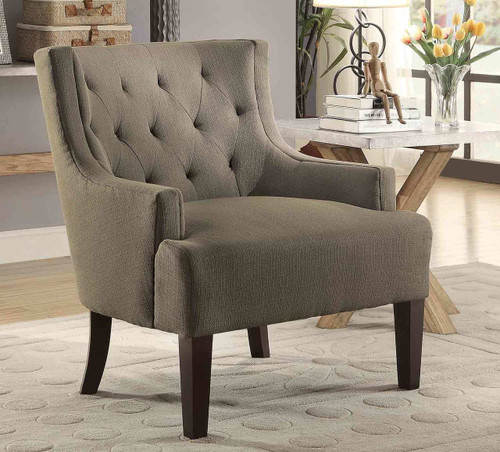 DULCE ACCENT CHAIR GREY-1233GY