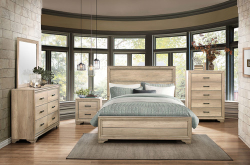 LONAN COLLECTION 6 PCS BEDROOM SET-1955