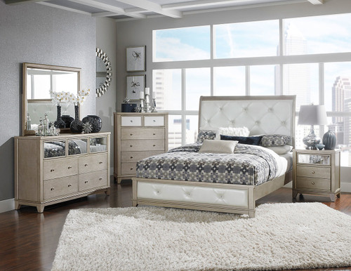 ODELIA COLLECTION 6 PCS BEDROOM SET-1708