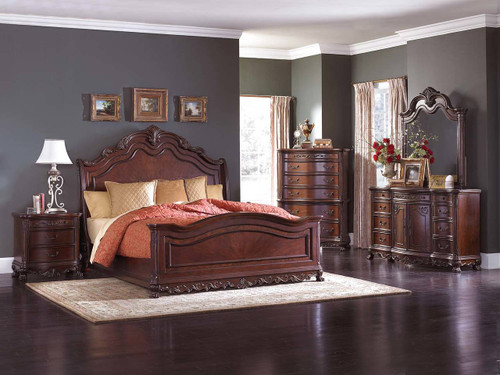DERYN PARK COLLECTION 6 PCS BEDROOM SET-2243SL