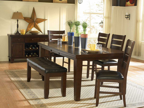 AMEILLIA COLLECTION DINING TABLE 5 PCS SET-586