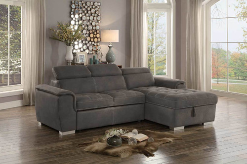 FERRIDAY COLLECTION TAUPE SECTIONAL SET-8228TP