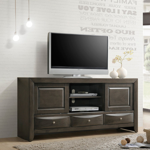 EMILY TV STAND IN GREY