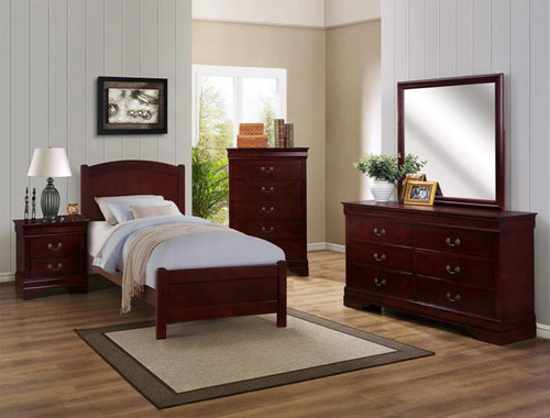 HELENE TWIN CHERRY BEDROOM COLLECTION