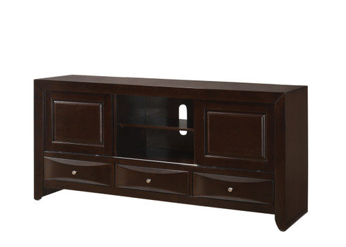 EMILY TV STAND IN DARK CHERRY