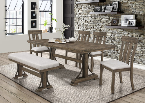 QUINCY DINING TABLE 5 PIECE SET