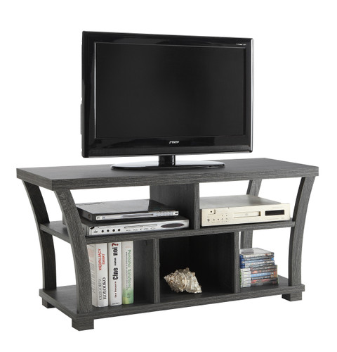 DRAPER TV STAND GREY-4806-GY