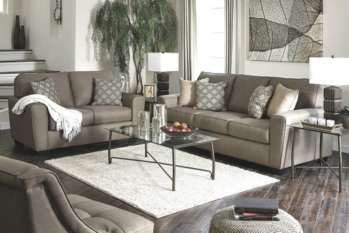 CALICHO CASHMERE COLLECTION SOFA AND LOVE SEAT 2 PCS SET-91202-38-35