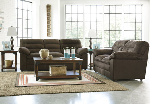 TALUT CAFE COLLECTION SOFA AND LOVE SEAT 2 PCS SET-29900-38-35