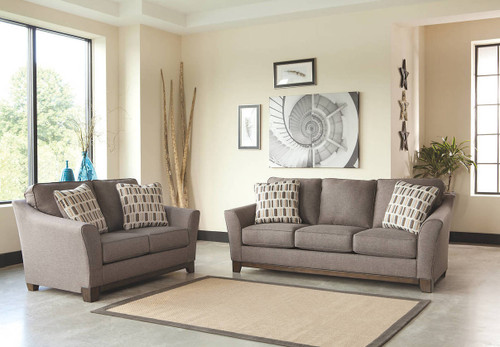 JANLEY SLATE COLLECTION SOFA AND LOVE SEAT 2 PCS SET-43804-38-35