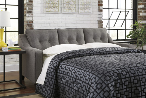BRINDON CHARCOAL COLLECTION QUEEN SOFA SLEEPER-53901-39
