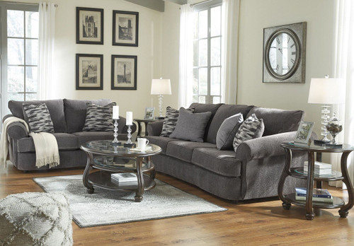 ALLOUETTE ASH COLLECTION SOFA AND LOVE SEAT 2 PCS SET-93504-38-35