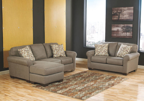 DANELY DUSK COLLECTION SOFA CHAISE AND LOVE SEAT 2 PCS SET-35500-18-35