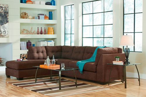 MAIER WALNUT COLLECTION SECTIONAL SET-45201-66-17