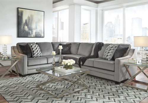BICKNELL CHARCOAL COLLECTION SECTIONAL SET-86204-66-49
