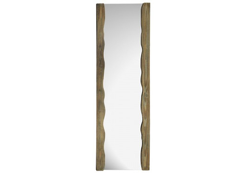 NATURAL WOOD LEANER MIRROR