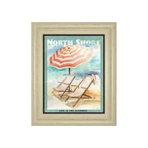 SHORE POSTER II BY PATRICIA PINTO 22x26