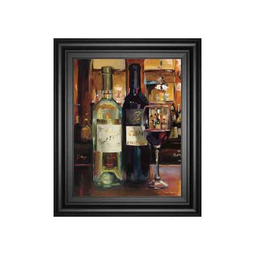 A REFLECTION OF WINE II BY MARILYN HAGMEMAN 22x26