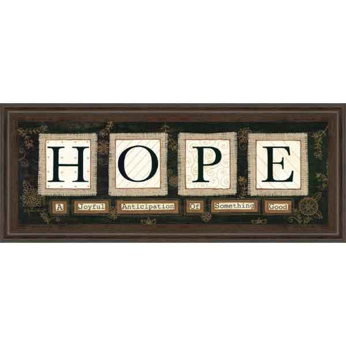 HOPE BY ANNE LAPOINT 18x42