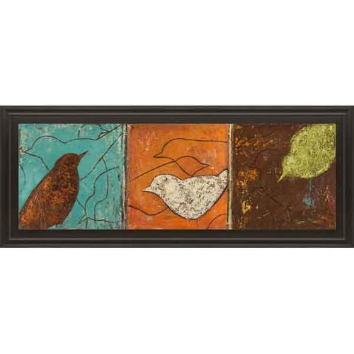 LOVELY BIRDS I 18x42