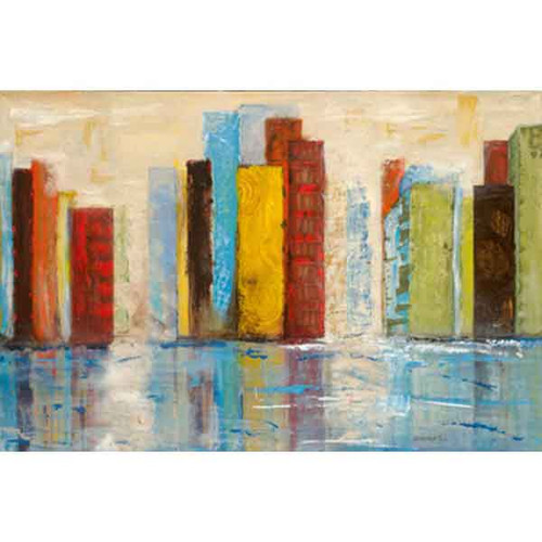 CITY OF COLOURS 40x60