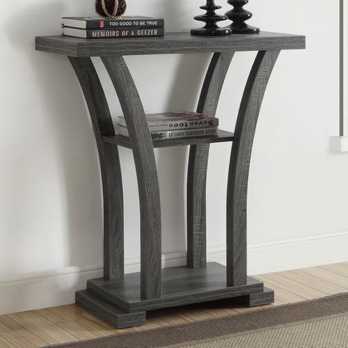DRAPER CONSOLE TABLE GREY-4906-GY