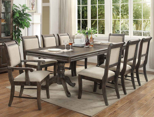MERLOT DINING TABLE GREY-2147/T