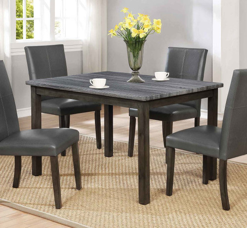 POMPEI DINING TABLE GREY-2377GY-1