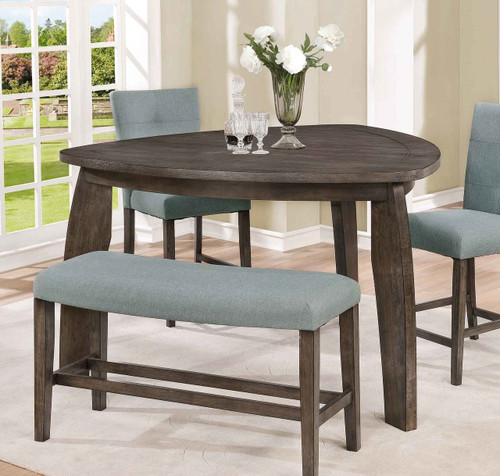 HOLLIS TRIANGLE COUNTER HEIGHT TABLE-2718T