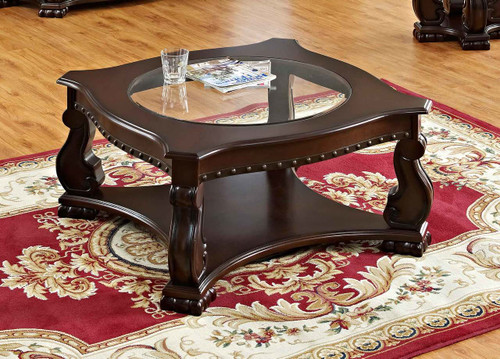MADISON WOOD COFFEE TABLE-4320/04
