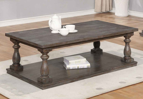 REGENT COFFEE TABLE W/4 CASTERS-4270/01
