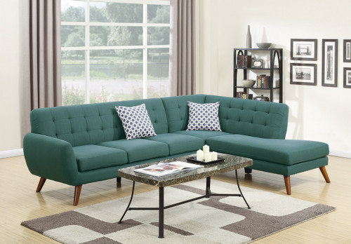 2PCS LAGUNA POLYFIB SECTIONAL SET-F6955