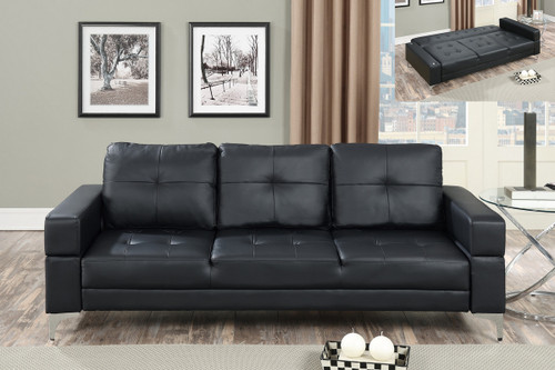 ADJUSTABLE SOFA BLACK-F6830