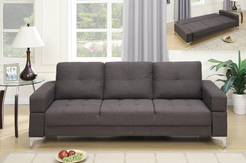 ADJUSTABLE SOFA ASH BLACK-F6831