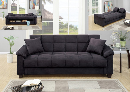 ADJUSTABLE SOFA EBONY-F7888