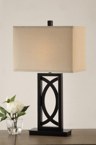 "TABLE LAMP 27""H-F5388"