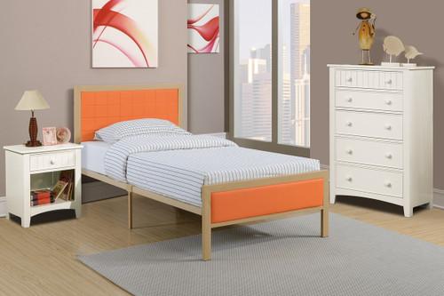 TWIN/FULL BED PU CITRUS-F9391