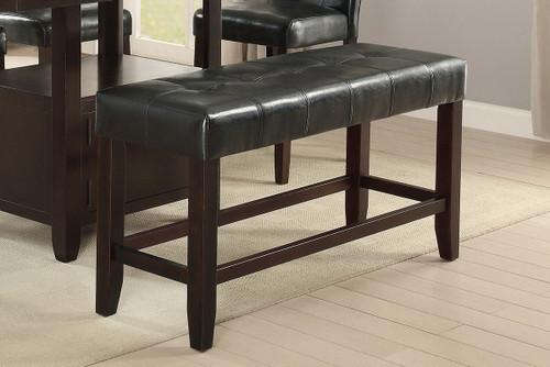 HIGH BENCH PU BLACK-F1755/Bench