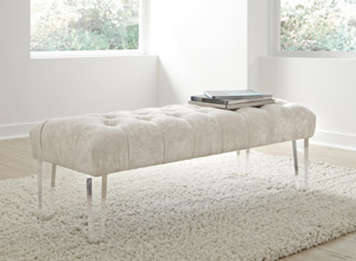 CONTEMPORARY BROOKLY ACCENT BENCH
