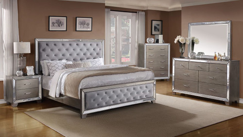6 PCS COSETTE BEDROOM SET