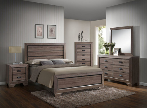 6 PCS FARROW QUEEN/KING BEDROOM SET