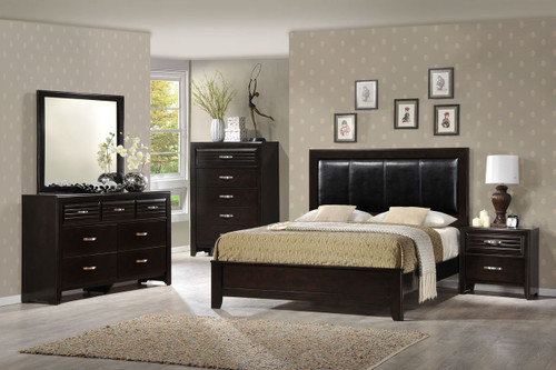 6 PCS JOCELYN BEDROOM SET