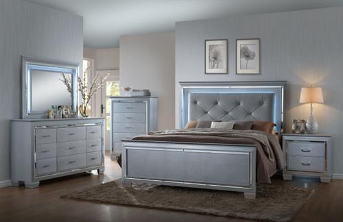 6 PCS LILLIAN BED SET-B7100-Q