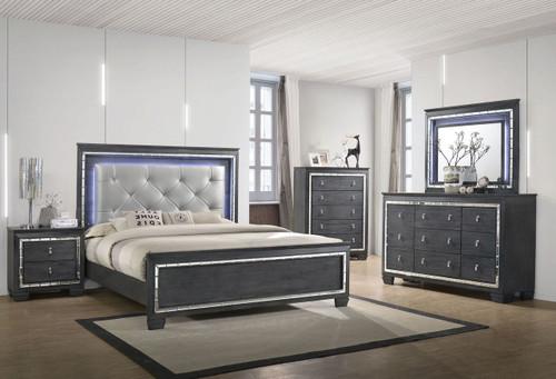 6 PCS PERINA LED BEDROOM SET-B7000-QQ