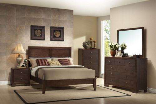 6 PCS SILVIA BEDROOM SET-B4600-Set-Q