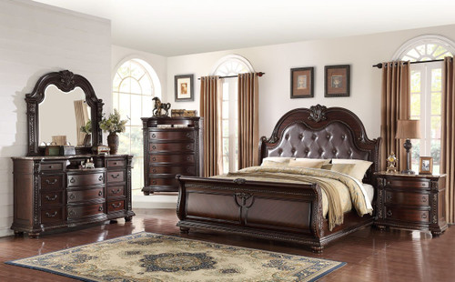 6 PCS STANLEY BEDROOM SET-B1600-Set-Q