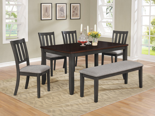 AMBER DINING TABLE 5 PIECE SET-2362T/S