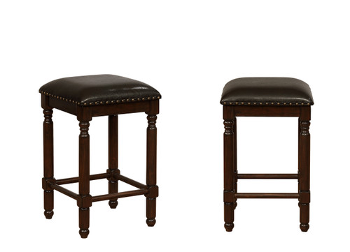 CHADWICK COUNTER HEIGHT STOOL 2PCS SET-2782C-24-ESP